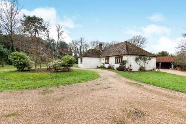 Thumbnail Bungalow for sale in Tongs Wood Drive, Hawkhurst, Cranbrook, Kent