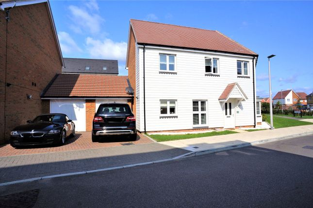 Thumbnail Semi-detached house for sale in Paddock Drive, Hoo, Rochester