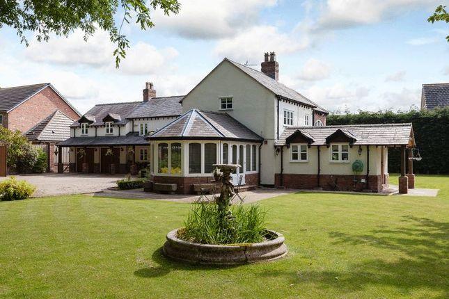Thumbnail Detached house for sale in Darland Lane, Rossett, Wrexham