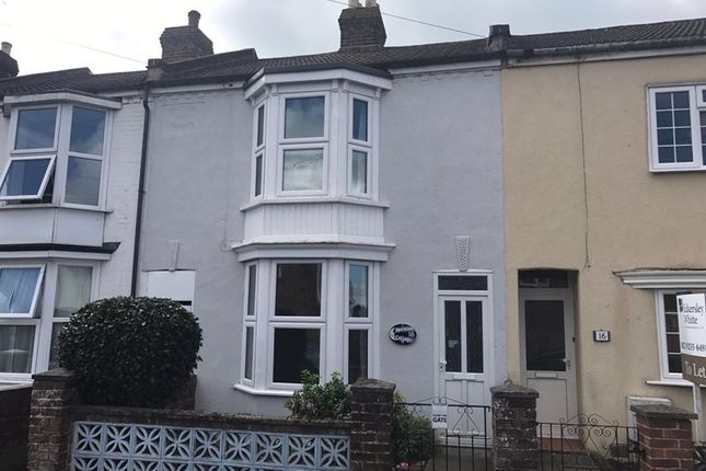 Thumbnail Terraced house to rent in Clayhall Road, Gosport
