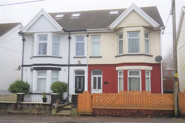 Thumbnail Semi-detached house for sale in Beaufort Road, Ebbw Vale