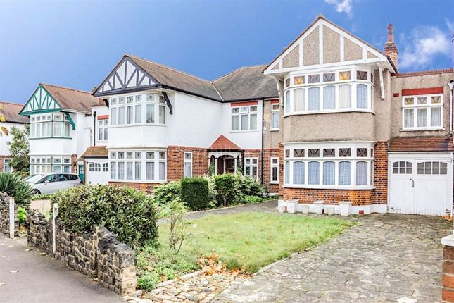 Thumbnail Terraced house for sale in Overton Drive, Wanstead, London