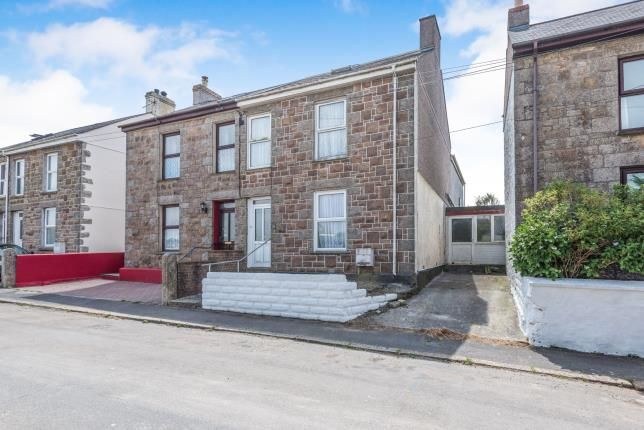 Thumbnail Semi-detached house for sale in Beacon, Camborne, Cornwall