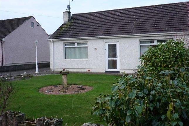 Thumbnail Semi-detached bungalow to rent in Crooklands, High Harrington, Workington
