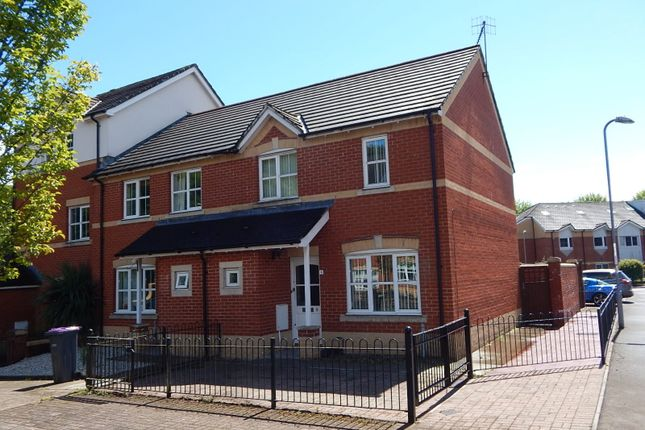 Thumbnail Semi-detached house to rent in Clos Afon Llwyd, Riverside, Pontypool
