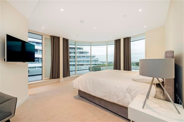 Thumbnail Property to rent in Three Bedroom. Chelsea Bridge Wharf