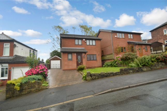 Thumbnail Detached house for sale in Slateacre Road, Gee Cross, Hyde, Greater Manchester