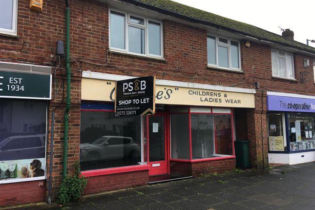 Thumbnail Retail premises to let in Valley Road, Portslade, Brighton