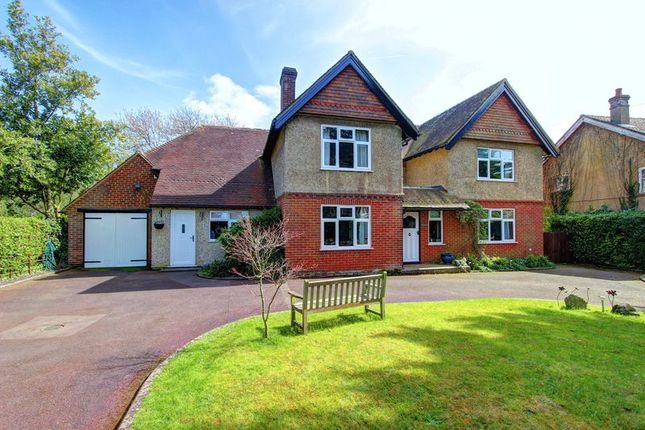 Thumbnail Detached house for sale in Danes Road, Awbridge, Romsey, Hampshire