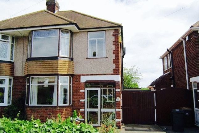 Thumbnail Semi-detached house to rent in Arnold Avenue, Styvechale, Coventry