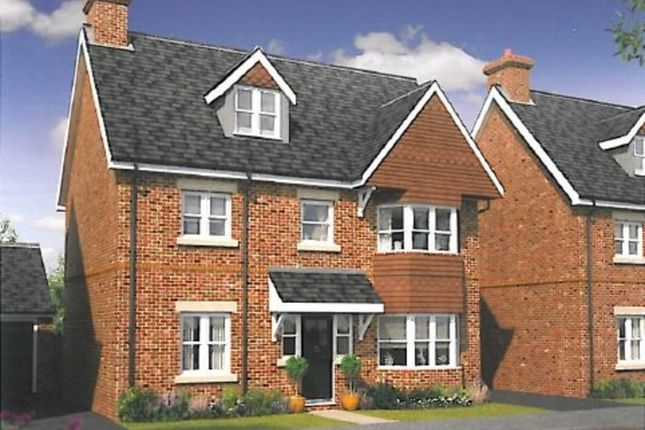 Thumbnail Detached house for sale in Warbler Road, Farnborough