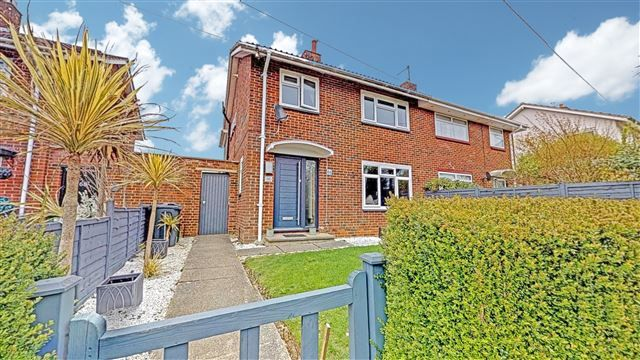 Thumbnail Semi-detached house for sale in Maiden Lane, Crawley