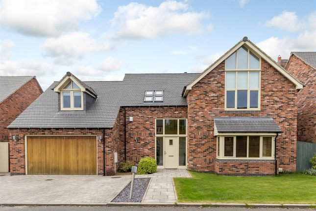 Thumbnail Detached house for sale in Orton Close, Carlton, Nuneaton