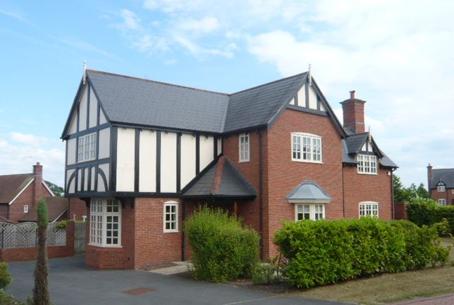 Thumbnail Detached house to rent in Wychwood Park, Weston, Crewe, Cheshire