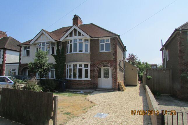 Thumbnail Semi-detached house to rent in London Road, Headington, Oxford