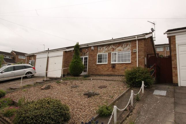 Thumbnail Bungalow for sale in Jessop Close, Leicester
