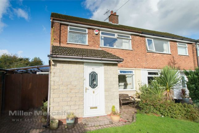 Thumbnail Semi-detached house for sale in Brook Gardens, Harwood, Bolton, Lancashire