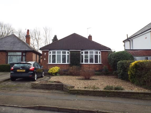 Thumbnail Bungalow for sale in Tennis Court Drive, Humberstone, Leicester, Leicestershire
