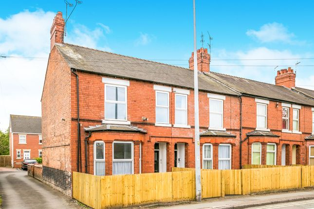 Thumbnail End terrace house for sale in Vicars Cross Road, Vicars Cross, Chester