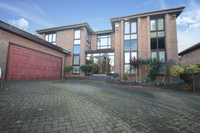 Thumbnail Detached house for sale in Ringley Park, Whitefield, Manchester