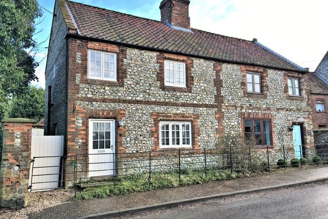 Thumbnail Semi-detached house for sale in Station Road, Docking, King's Lynn