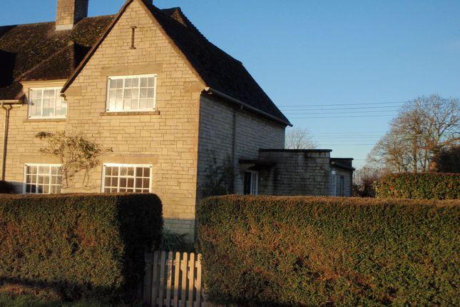 Thumbnail Semi-detached house to rent in School Lane, Overbury, Tewkesbury, Gloucestershire