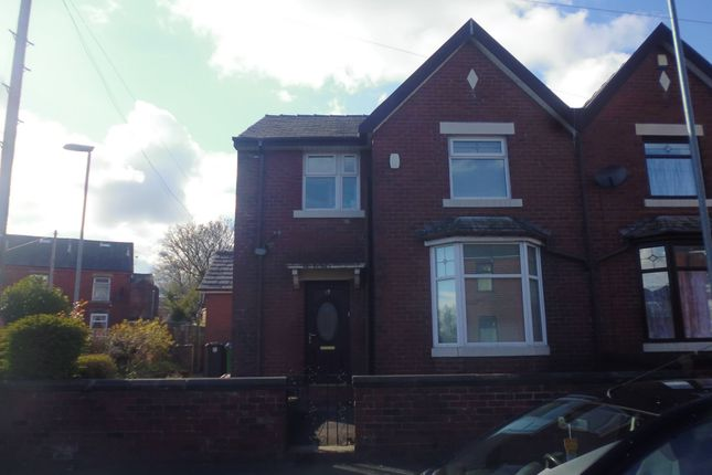 Thumbnail Semi-detached house to rent in Clement Royds Street, Spotland