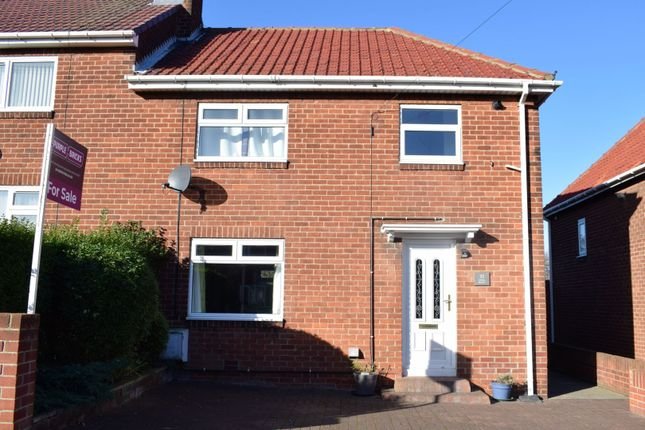 Thumbnail Semi-detached house for sale in Rydal Mount, Newbiggin-By-The-Sea