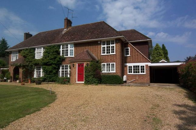 Thumbnail Semi-detached house for sale in Mill Lane, St. Ippolyts, Hitchin, Hertfordshire