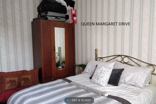 Thumbnail Flat to rent in Queen Margaret Drive Hmo, Glasgow