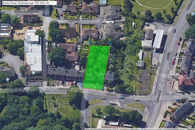 Thumbnail Land for sale in Burlam Road, Middlesbrough
