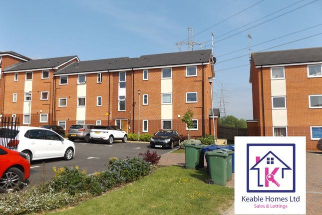 Thumbnail Flat to rent in Dorney Place, Cannock