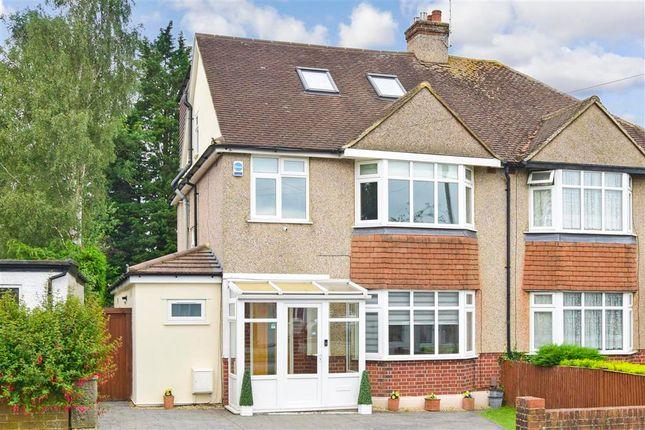 Thumbnail Semi-detached house for sale in Waddington Avenue, Coulsdon, Surrey
