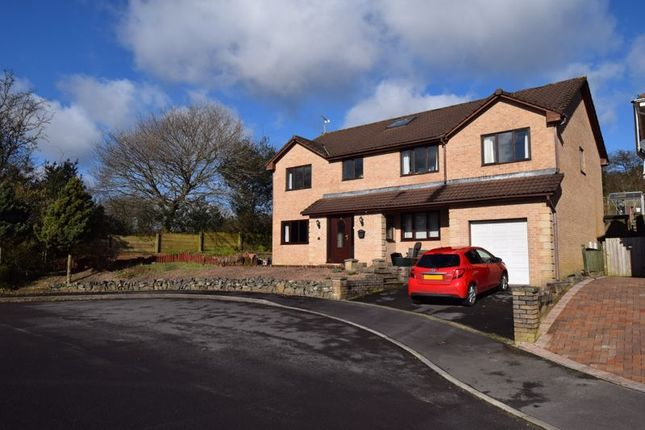 Thumbnail Detached house for sale in Beechwood Grove, Pencoed, Bridgend