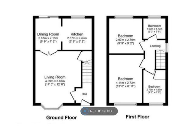 3 bed semi-detached house to rent in Badbury Close, Haydock, St. Helens WA11