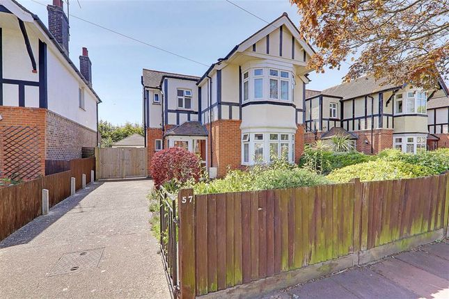3 bed detached house for sale in Bulkington Avenue, Thomas A Becket, Worthing, West Sussex BN14