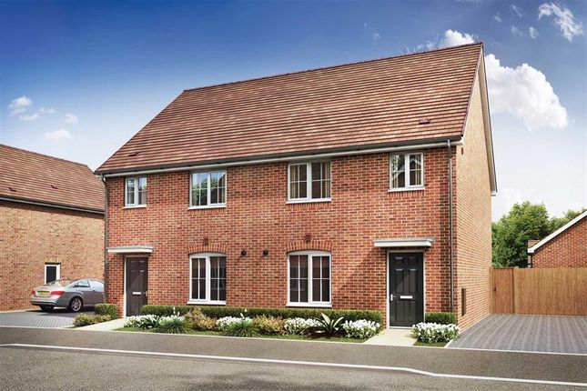 """Thumbnail Terraced house for sale in """"The Birchford - Plot 205"""" at Peckham Chase, Eastergate, Chichester"""