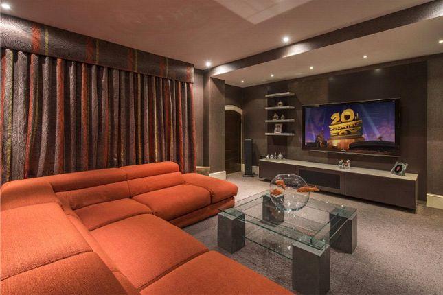 Cinema Room of St Katharine's Precinct, Regent's Park, London NW1