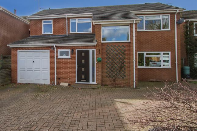 Thumbnail Detached house for sale in Elm Grove, Balsall Common, Coventry