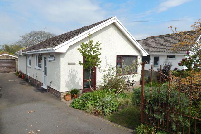 Thumbnail Detached bungalow for sale in Cefn Road, Glais, Swansea