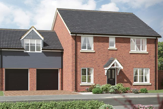 Thumbnail Detached house for sale in Granger Close, Walsham Le Willows