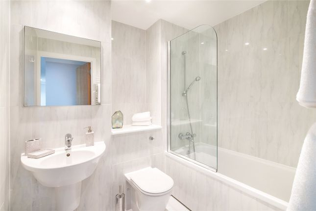 Bathroom of Artillery Mansions, Victoria Street, Westminster, London SW1H