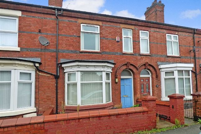 Thumbnail Terraced house for sale in Earle Street, Crewe