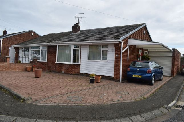 Thumbnail 2 bed semi-detached bungalow for sale in Elston Close, Newcastle Upon Tyne, Tyne And Wear