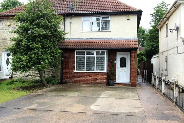 Thumbnail 2 bed semi-detached house for sale in Edgehill Grove, Mansfield Woodhouse, Mansfield