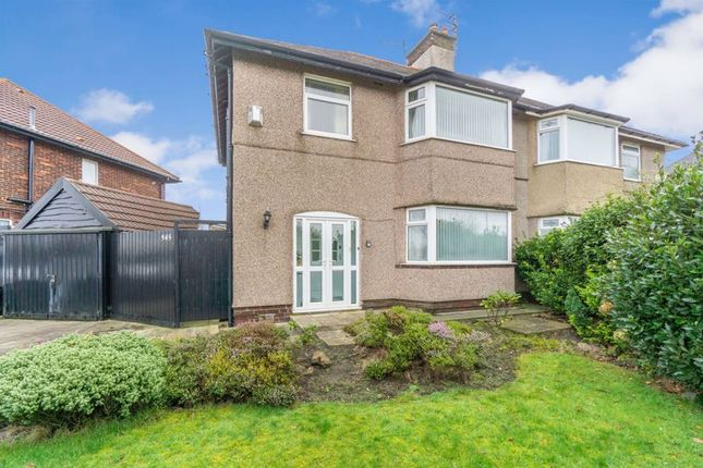 Thumbnail Semi-detached house for sale in Leasowe Road, Wirral