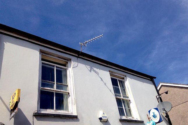 Thumbnail Flat to rent in High Street, Rhymney, Tredegar