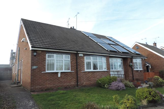 Thumbnail Semi-detached bungalow to rent in Haddon End, Styvechale, Coventry