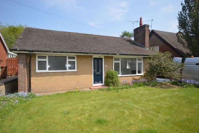 Thumbnail Detached bungalow to rent in Mill Hill Lane, Sandbach, Cheshire
