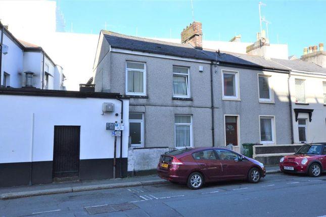Thumbnail End terrace house for sale in Regent Street, Plymouth, Devon